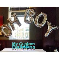 Oh Boy 5letter Balloon Delivery