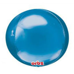 16in Blue Orb Balloon Delivery