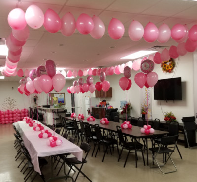 First Bday Simple Decor with BIG Impact