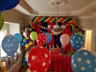Spiral balloon Garland
