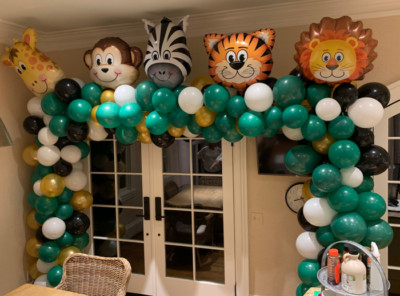 Organic Safari Balloon Arch